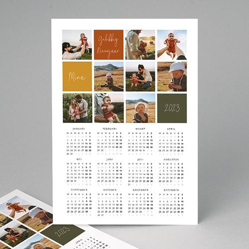 Kalender Jaarplanner 2020 Uw kindje zijn eerste kerstwens