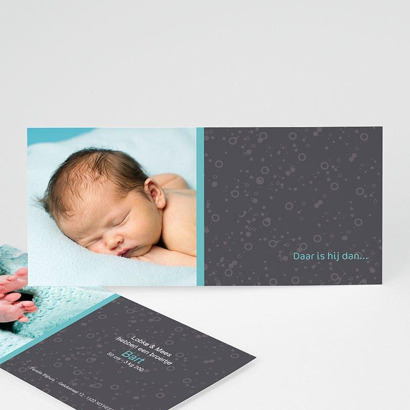 Geboortekaartjes Meisje Baby by night