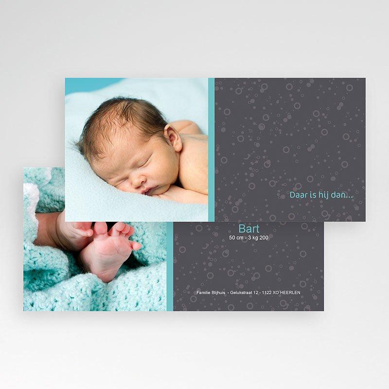 Geboortekaartjes Meisje Baby by night pas cher