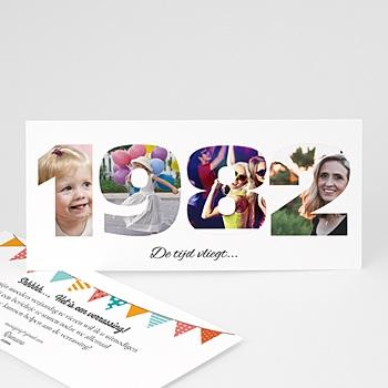 Verjaardagskaarten volwassenen - Wat gaat de tijd snel - 1