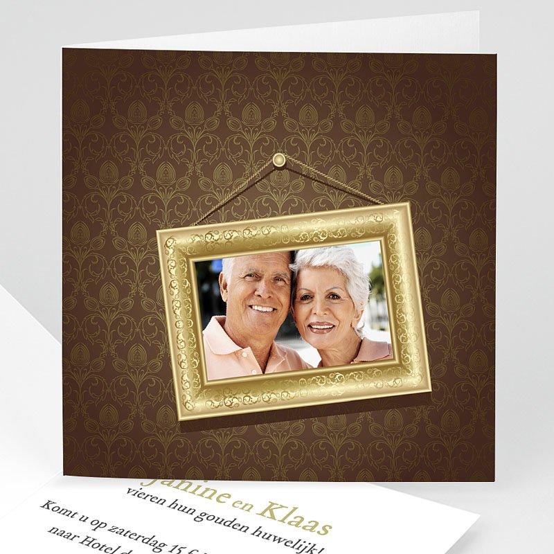 Jubileumkaarten huwelijk - Gouden bruiloft, 50 jaar huwelijk 10916 thumb