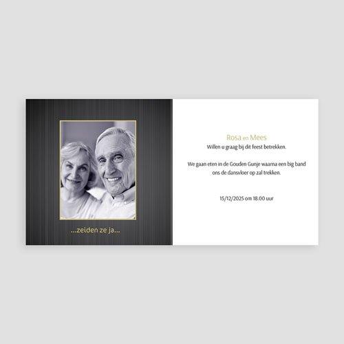 Bruiloft Uitnodigingen Verjaardag 70 jarig huwelijk, platinum bruiloft pas cher