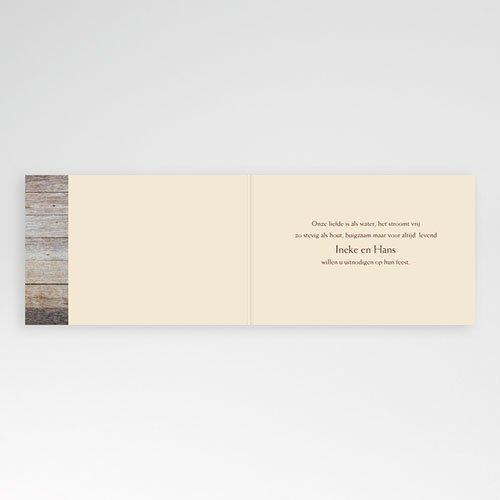 Jubileumkaarten huwelijk - houten bruiloft, 5 jaar huwelijk 10927 thumb