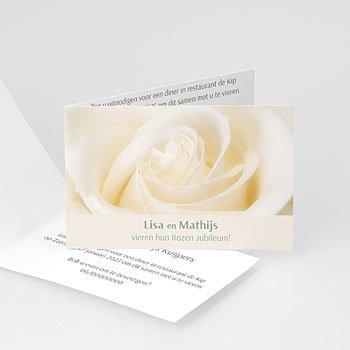 Jubileumkaarten huwelijk - Jubileumkaart rozen - 1