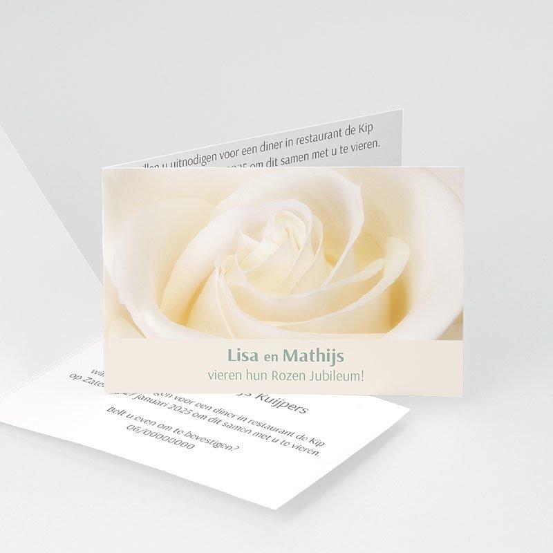 Bruiloft Uitnodigingen Verjaardag Jubileumkaart rozen