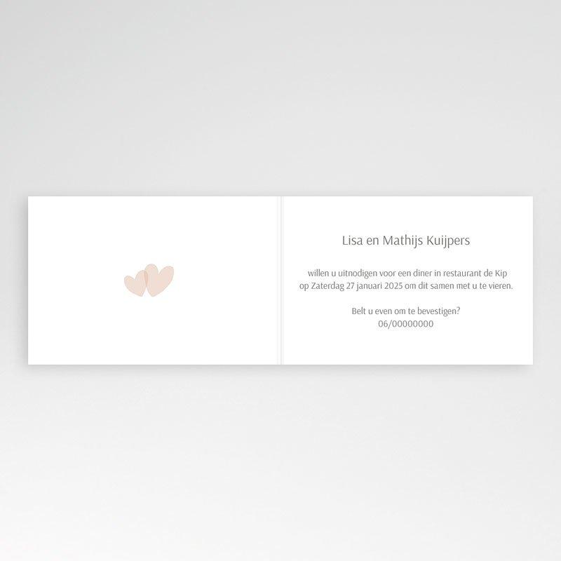 Bruiloft Uitnodigingen Verjaardag Jubileumkaart rozen pas cher