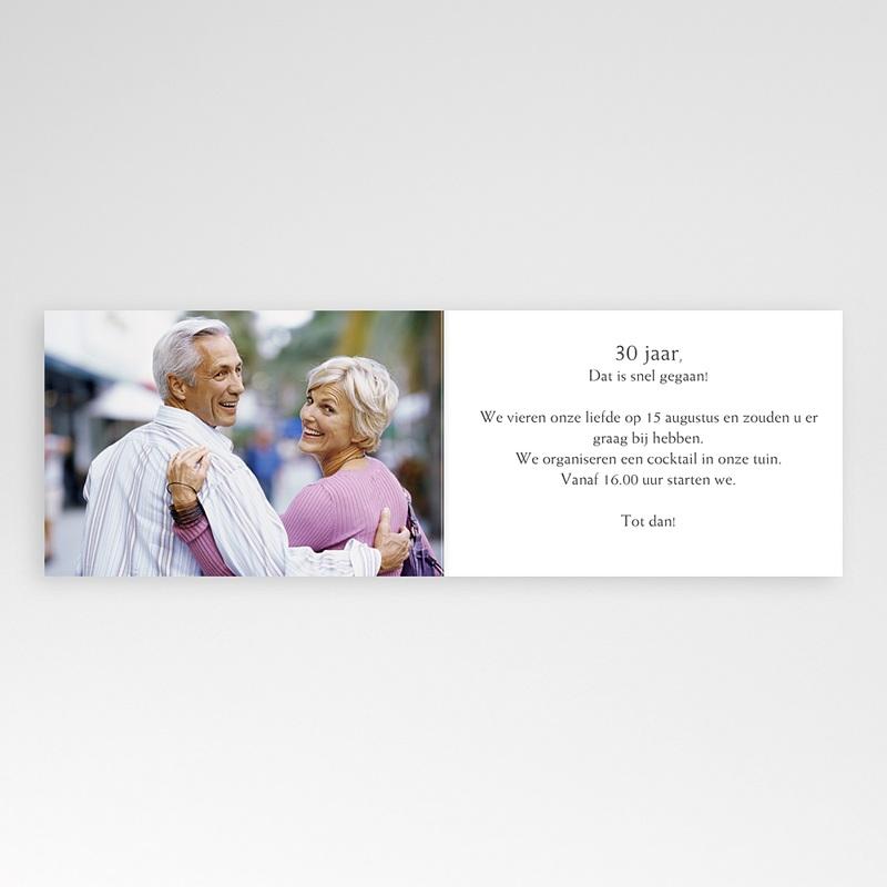 Jubileumkaarten huwelijk - 30 jaar getrouwd, parels 10937 thumb