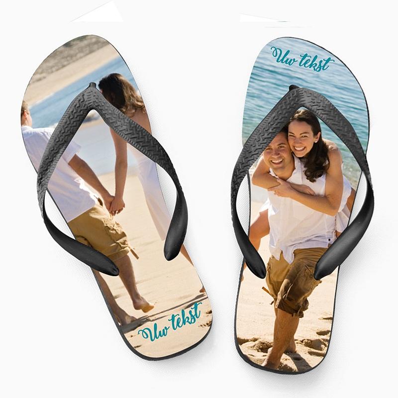 Slippers Slippers met foto opdruk