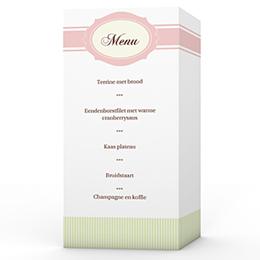 Personaliseerbare menukaarten huwelijk Eeuwig zoet