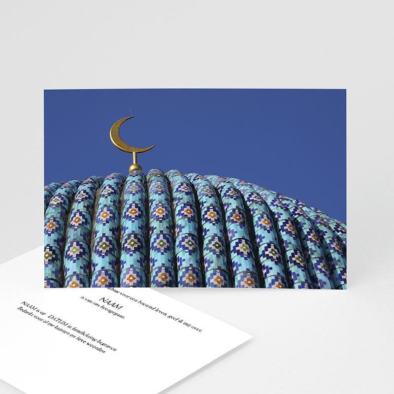 Bedankkaarten overlijden, Islamistisch - Moskee 11046 thumb