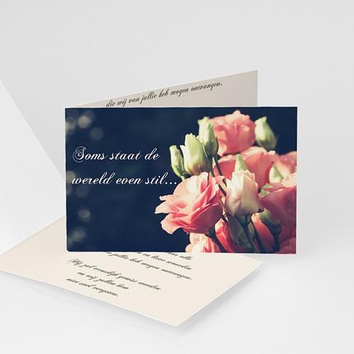 Universele Bedankkaartjes Overlijden Bloemen