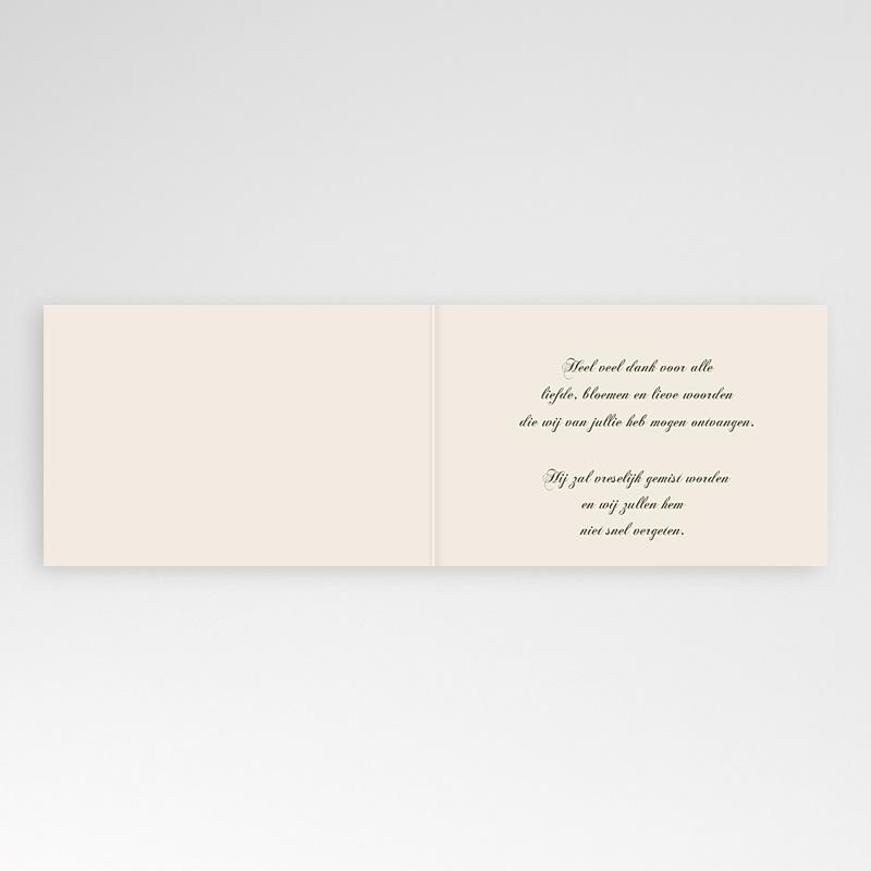 Universele Bedankkaartjes Overlijden Bloemen pas cher