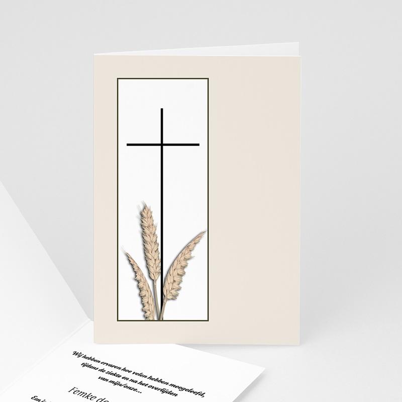 Christelijke Bedankkaartjes Overlijden Tarwestengels 2