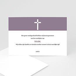 Condoleance Décès Chrétien Modern geliefd