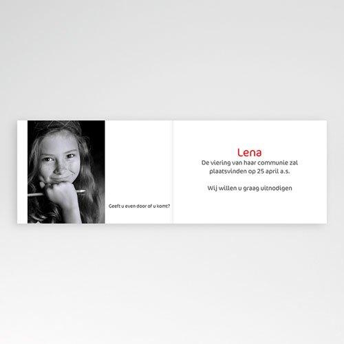 Uitnodiging communie meisje - Moderne communie 11183 thumb