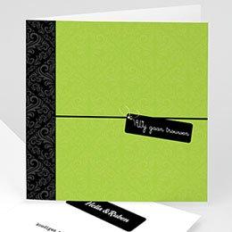 Personaliseerbare trouwkaarten - Save the date kaartje - 1