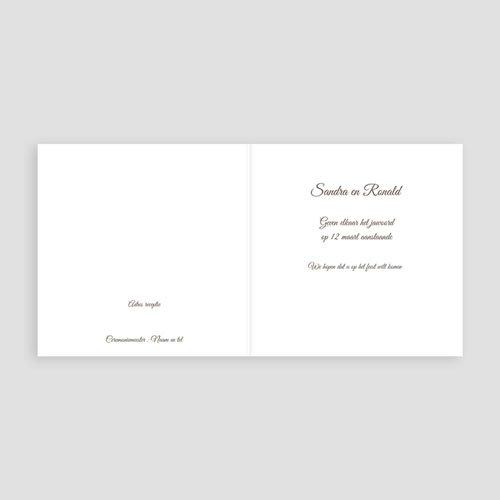 Trouwkaarten - Pastel choco 11205 thumb