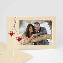 Bedankkaartjes huwelijk - Alle hartjes - 1