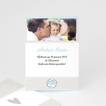 Adoptiekaarten voor jongens - Moderne adoptiekaart, jongen - 1