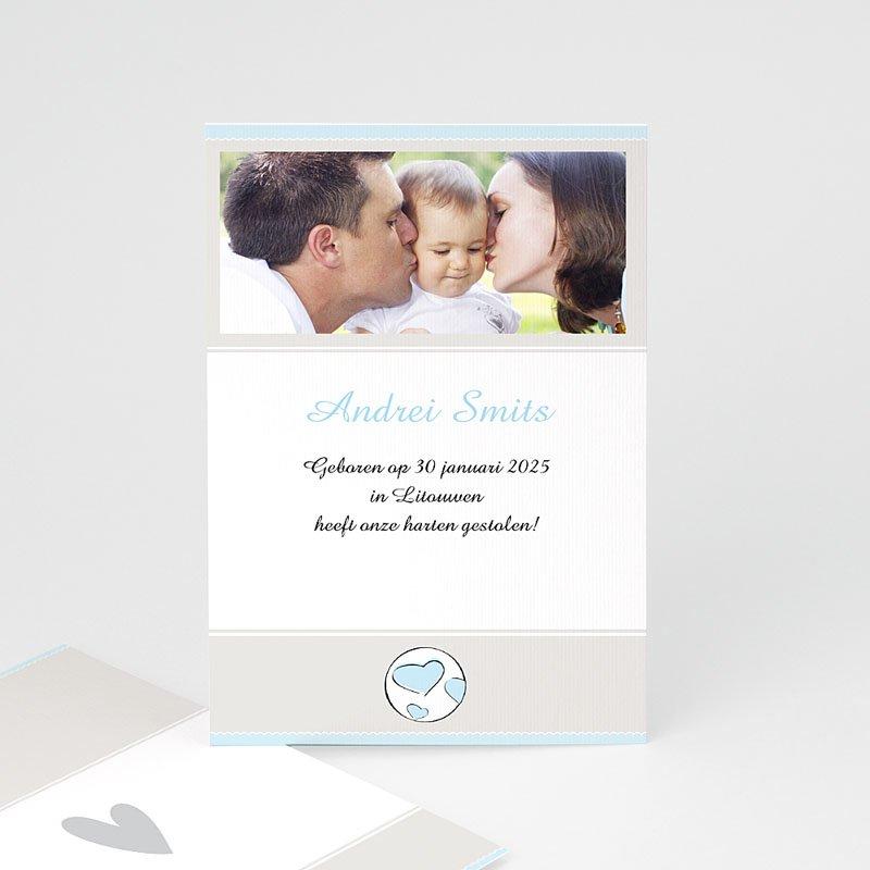 Adoptiekaarten voor jongens Moderne adoptiekaart, jongen