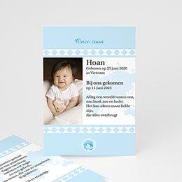 Adoptiekaarten voor jongens geadopteerd zoontje