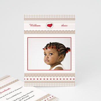 Adoptiekaarten voor meisjes - Wereldkind - 1