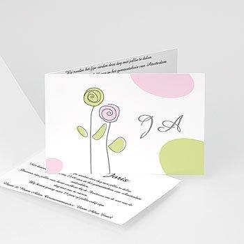 Personaliseerbare trouwkaarten - Speelse liefde - 1