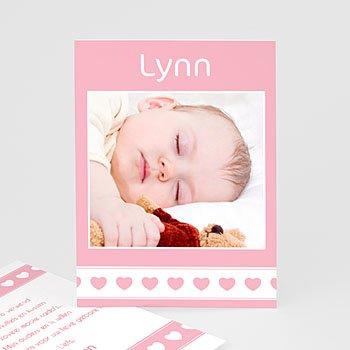 Bedankkaartje geboorte dochter - Namens onze dochter - 1