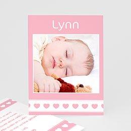 Bedankkaartjes Geboorte Namens onze dochter