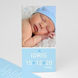 Geboortekaartje jongen Torenhoge knul