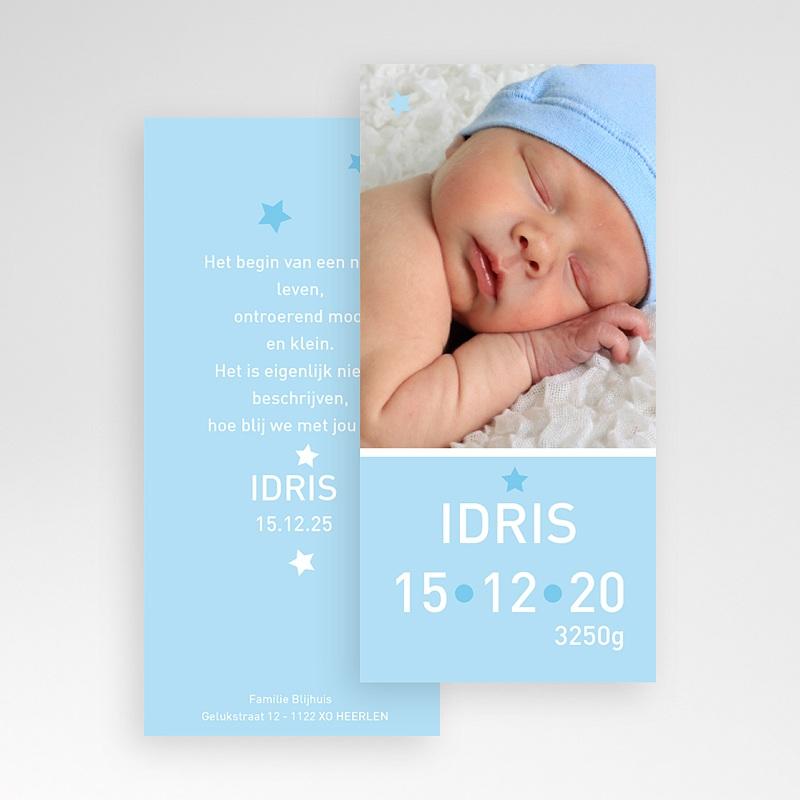 Geboortekaartje jongen - Torenhoge knul 11360 thumb