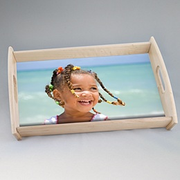 Dienbladen Foto-personaliseerbaar cadeau/object