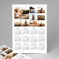 Kalender jaaroverzicht Collage kalender