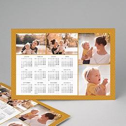Kalender jaaroverzicht multifoto klassiek