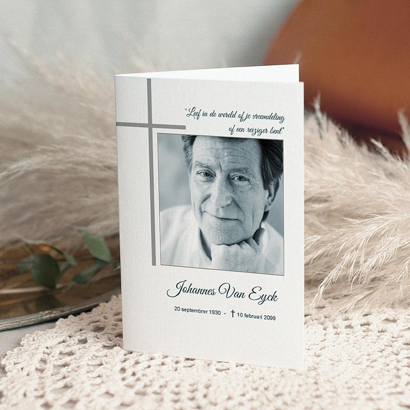 Bedankkaarten overlijden, Christelijk - Memorium 11603 thumb