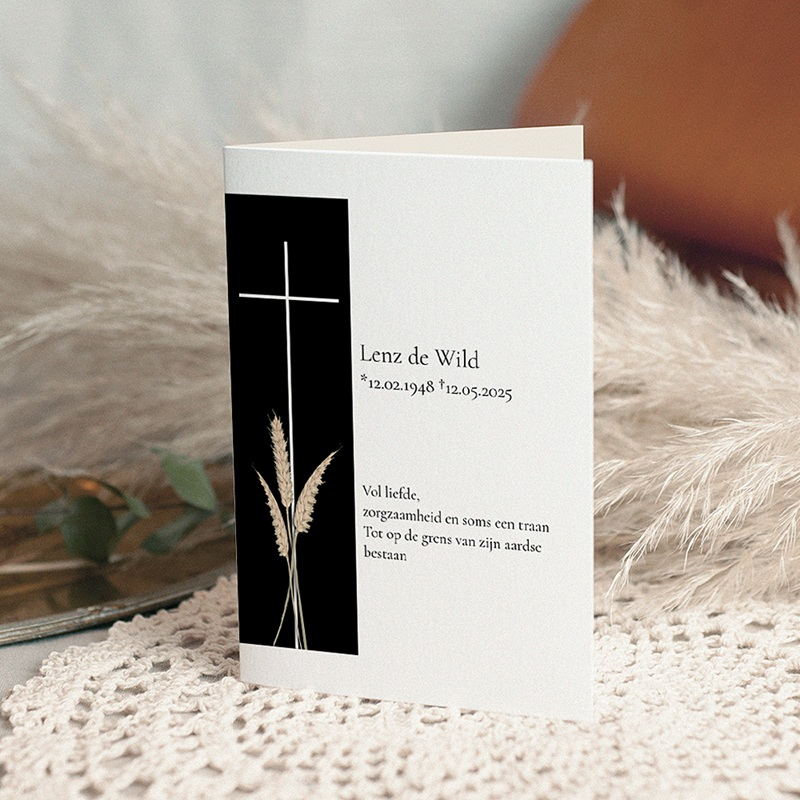 Bedankkaarten Overlijden Christelijk