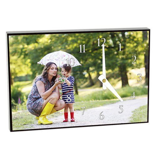 Gepersonaliseerde Fotoklok Foto-personaliseerbaar cadeau/object