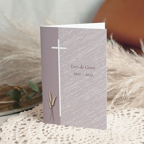 Christelijke Bedankkaartjes Overlijden Rooms verdriet