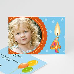 Uitnodiging Verjaardag kind Mondjes dicht