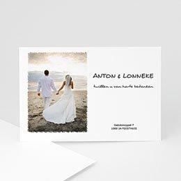 Bedankkaartjes huwelijk Rozenboeket