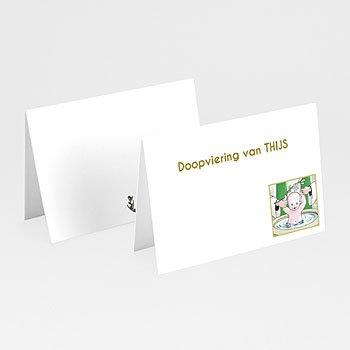 Plaatskaartjes doopviering - Illustratie doopsel - 1