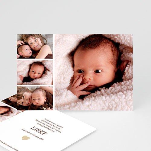 Geboortekaartje meisje - Even voorstellen 11688 thumb