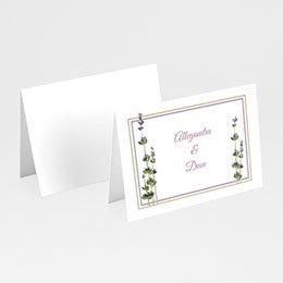 Personaliseerbare plaatskaartjes huwelijk Huwelijk in de Provence
