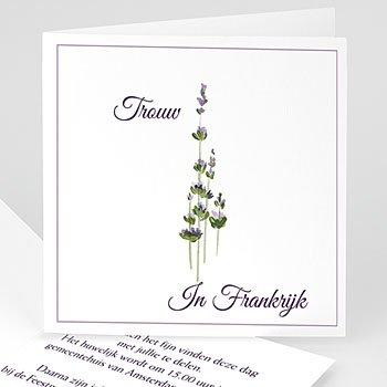 Trouwkaarten - Huwelijk in de Provence - 1