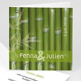 Aankondiging Huwelijk Bamboe huwelijk