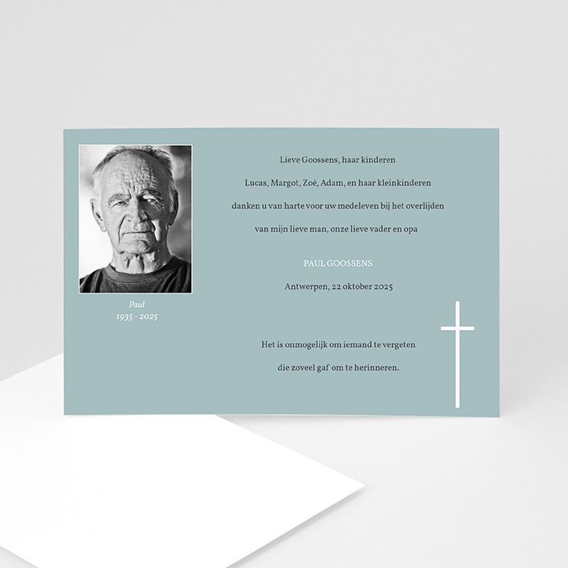 Bedankkaarten overlijden, Christelijk - Onsterfelijke gedachte 11777 thumb