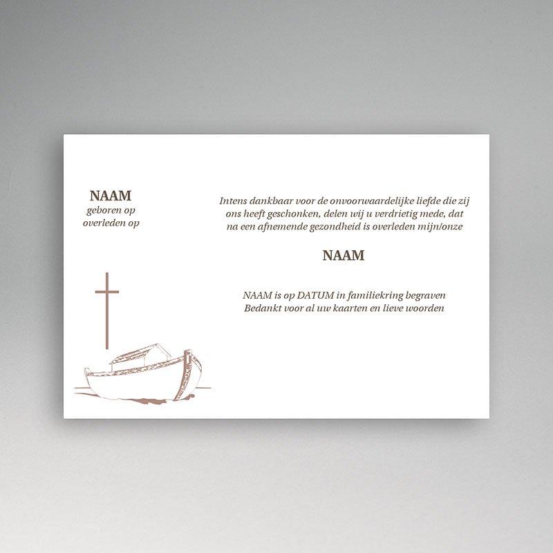 Bedankkaarten overlijden, Christelijk - Noach's tijd 11779 thumb
