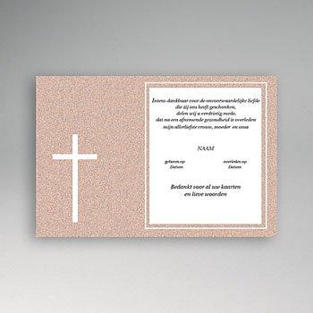 Bedankkaarten overlijden, Christelijk Rood graniet