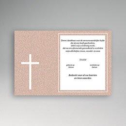 Aankondiging Décès Chrétien Rood graniet