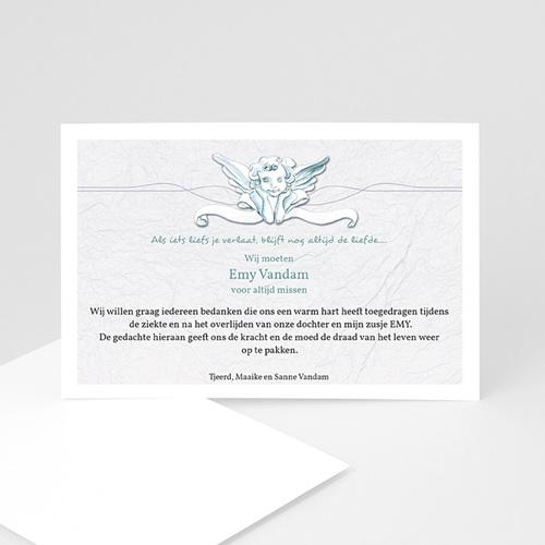 Universele rouwkaarten - Engel reliëf 11891 thumb